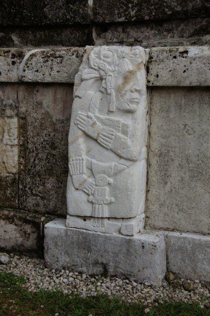 Наскальные рисунки в Паленке, Мексика
