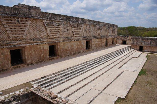"""""""Четырехугольник монахинь"""", Ушмаль, Мексика"""
