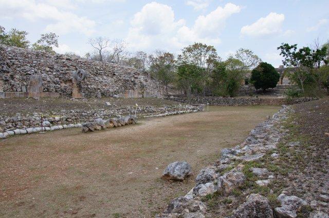 Площадка для игры в мяч, Ушмаль, Мексика