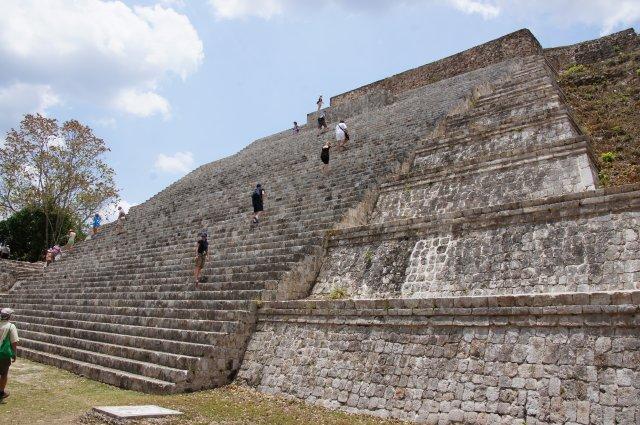 Большая Пирамида, Ушмаль, Мексика