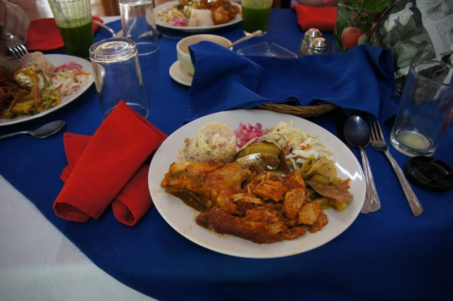 Мясное блюдо по-юкатански