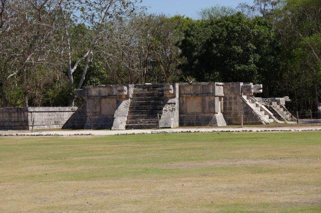 Платформа жертвоприношений, Чичен-Ица, Мексика