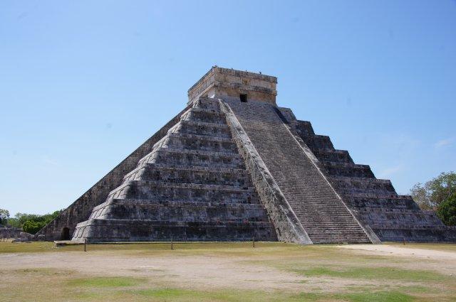 Храм Кукулькана, Чичен-Ица, Мексика