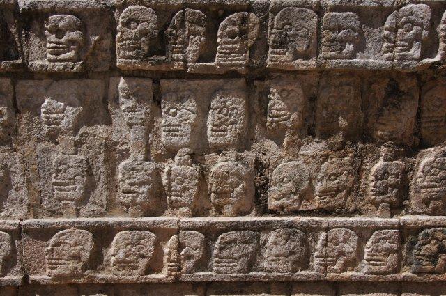 Платформа черепов, Чичен-Ица, Мексика