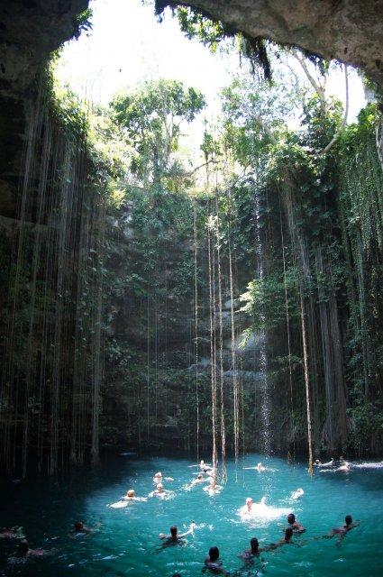 Сеноте Ик-Киль, Мексика