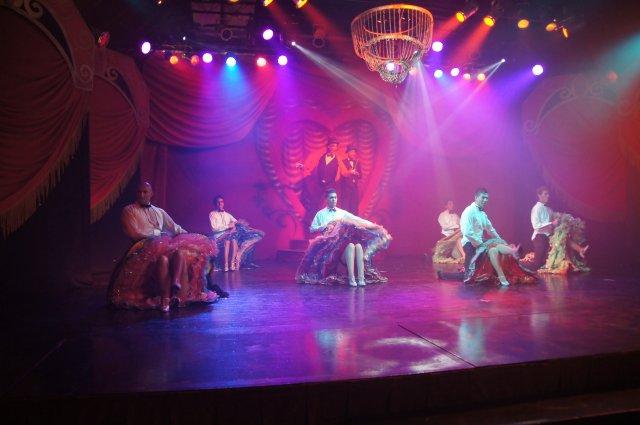 Развлекательное шоу в отеле Viva Wyndham Azteca 4*, Ривьера Майя, Мексика