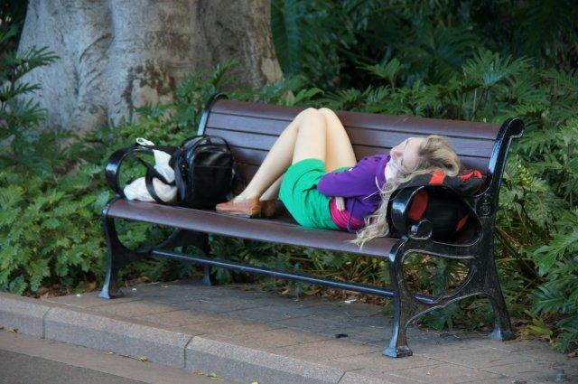 Отдыхаю в Гайд Парке, Сидней, Австралия