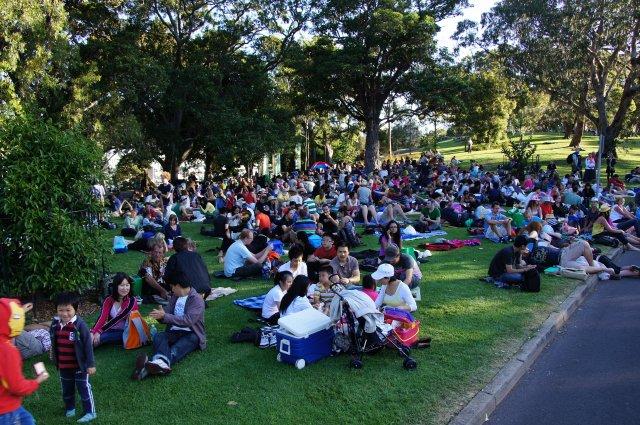 Королевский Ботанический Сад, 31 декабря, Сидней