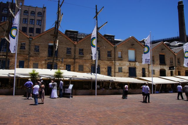 Ресторан Wolfies на набережной Сиднея, Австралия