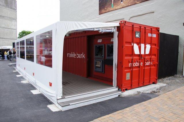 Банк-павильон в Крайстчерче, Новая Зеландия