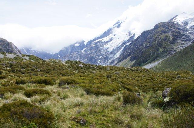 Национальный парк Аораки, гора Кука, Новая Зеландия