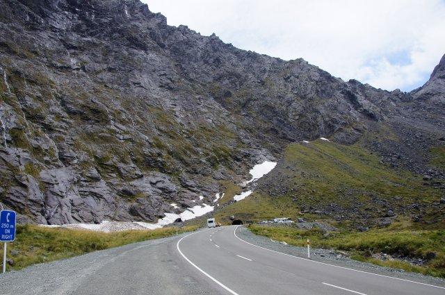 Тоннель Гомера, Новая Зеландия