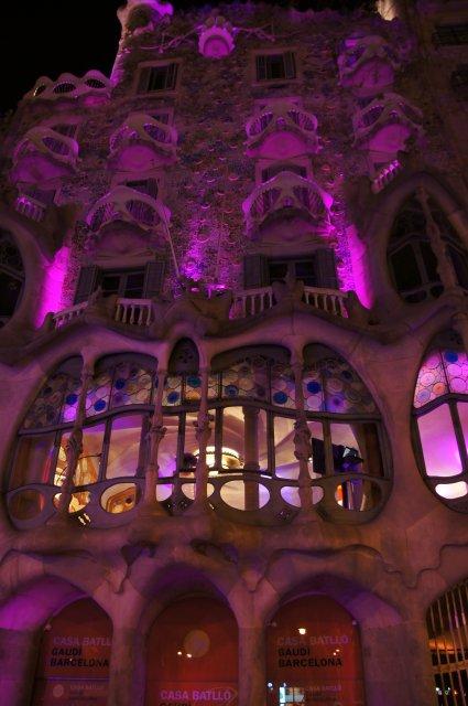 Дом Батло, Барселона, Испания