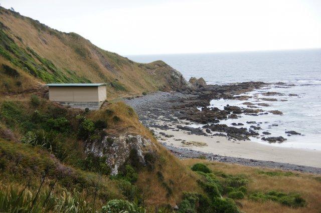 Укрытие на Roaring Bay, Новая Зеландия