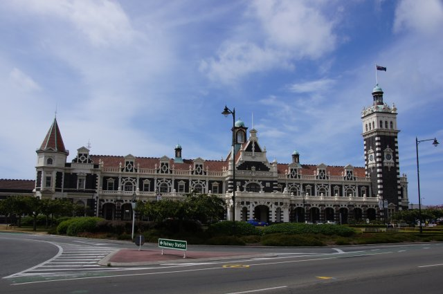 Железнодорожный вокзал Данидина, Новая Зеландия