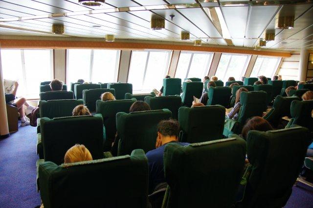 Палуба парома