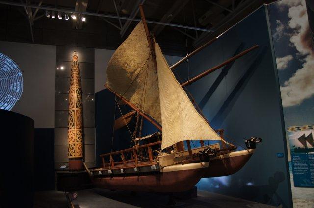 Древние лодки, на которых маори впервые приплыли с островов Полинезии в Новую Зеландию