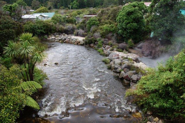 Деревня маори, Роторуа, Новая Зеландия