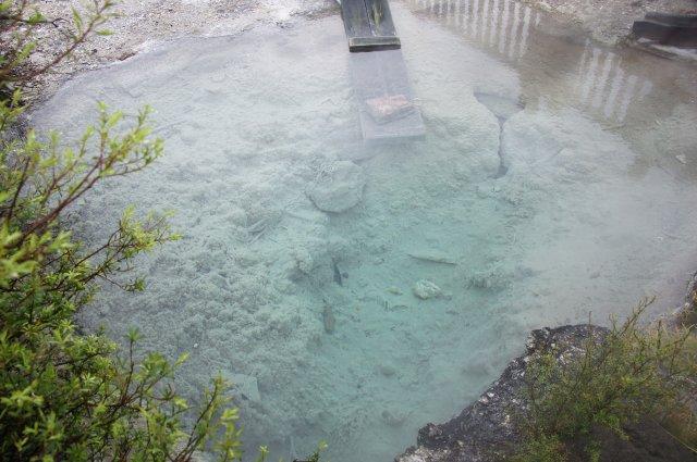 Геотермальная ванна в деревне маори, Роторуа, Новая Зеландия