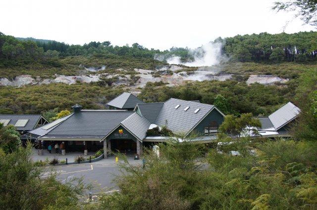 Гидротермальный парк Ваи-О-Тапу, Роторуа, Новая Зеландия