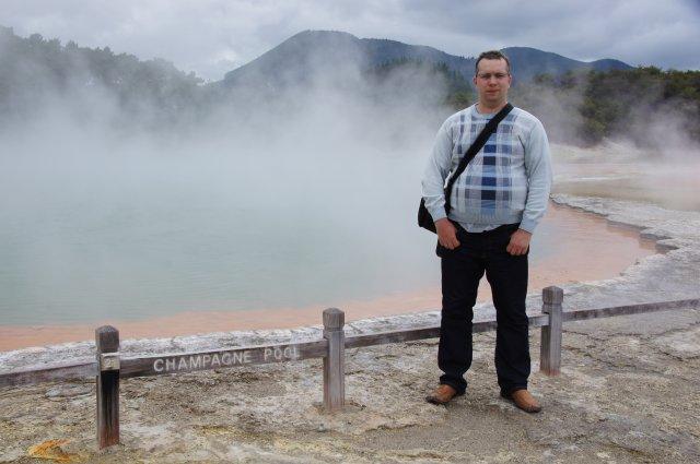Озеро Шампанского, Новая Зеландия