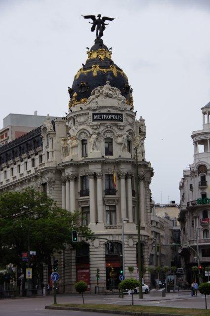 Здание Метрополис в Мадриде, Испания