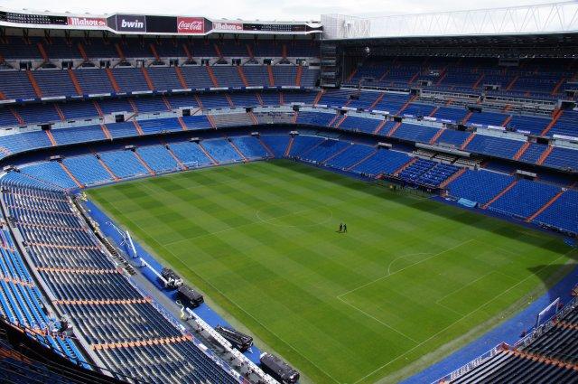 """Стадион """"Сантьяго Бернабеу"""" в Мадриде, Испания"""