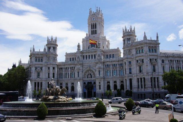 Площадь Сибелес, Мадрид, Испания