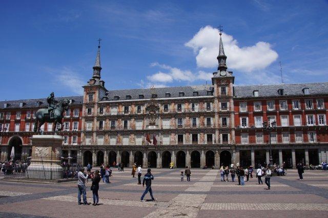 Пласа Майор в Мадриде, Испания