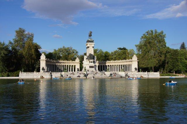 Парк Ретиро в Мадриде, Испания