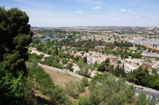 Вид на Толедо и реку Тахо, Испания