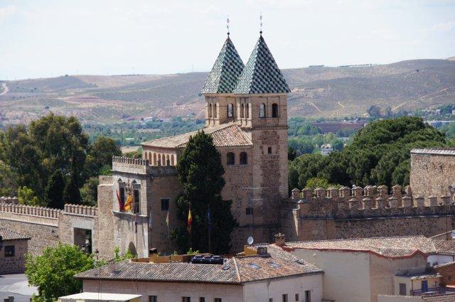 Крепость в Толедо, Испания