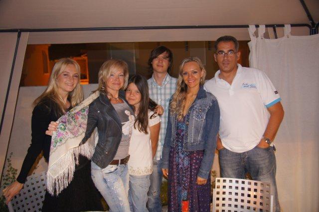 В гостях в испано-русской семье в Пуэрто-де-Масаррон, Испания