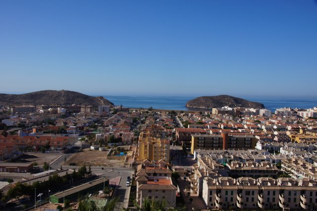 Вид из номера отеля La Cumbra, Пуэрто-де-Масаррон, Испания