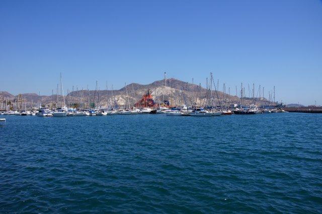 Порт Картахены, Испания