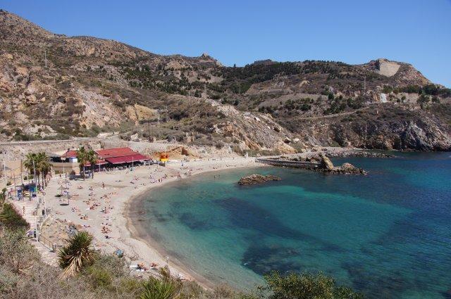 Пляж Картахены, Испания