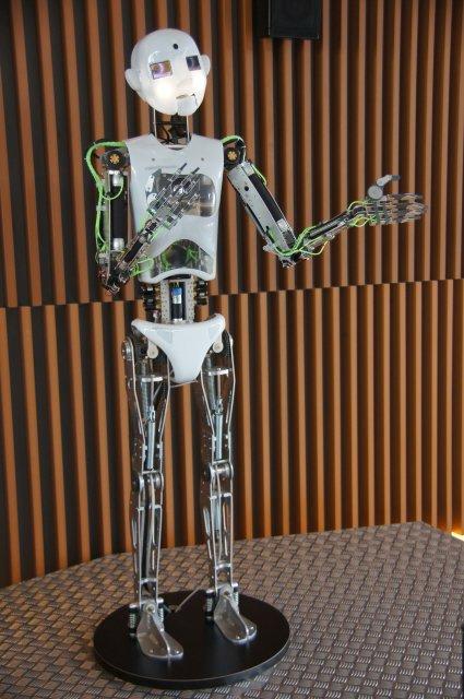 Робот в Парке Наук, Гранада, Испания