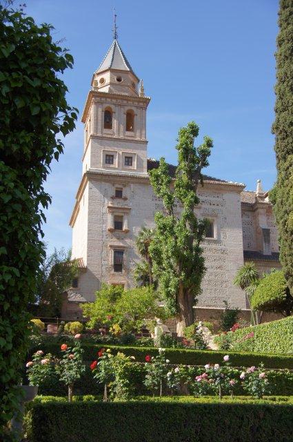 Архитектурно-парковый ансамбль Альгамбра, Гранада, Испания