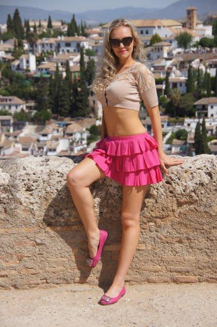 С башни замка Альгамбра, Гранада, Испания