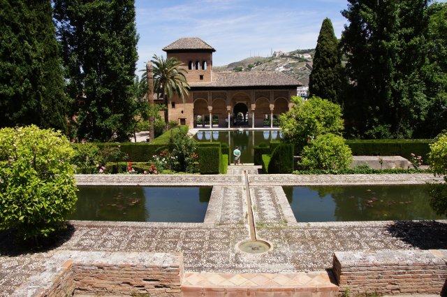 Территория замка Альгамбра, Гранада, Испания