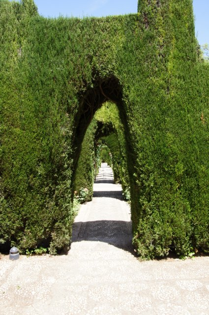 Сады Альгамбры, Гранада, Испания