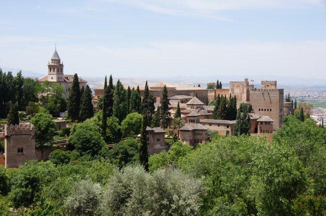 Замок Альгамбра, Гранада, Испания