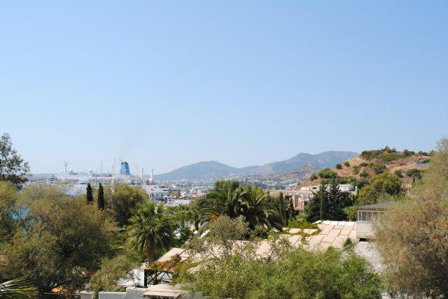 Вид из отеля на Бодрум
