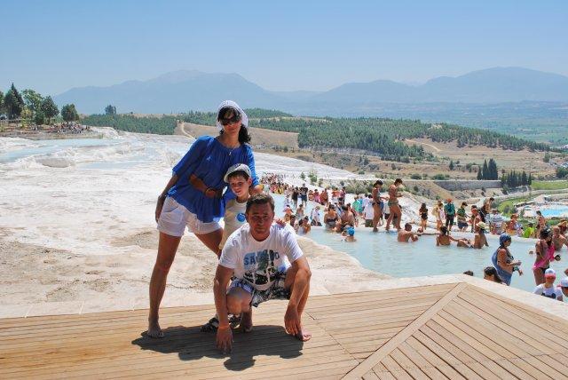 Семейный отдых в Турции, Памуккале