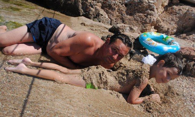 Шелковый песок на острове Клеопатры, Греция
