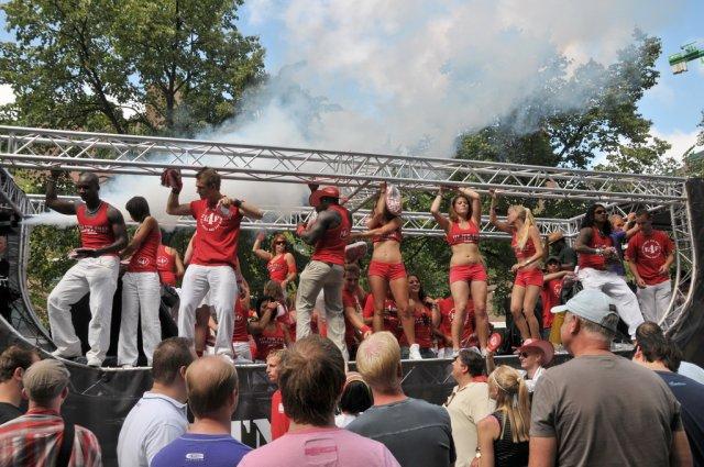 Парад танцев в Роттердаме, Нидерланды