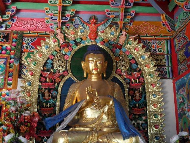 Будда в храме Дачжао, Хух-Хото