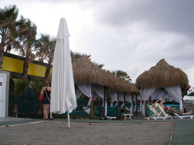 Пляж отеля Delphin Botanik, Алания, Турция