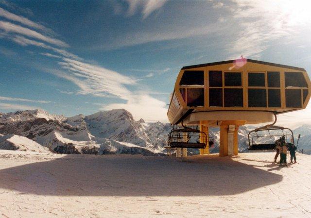 Горнолыжный курорт Дьяблере-Виллар, Швейцария