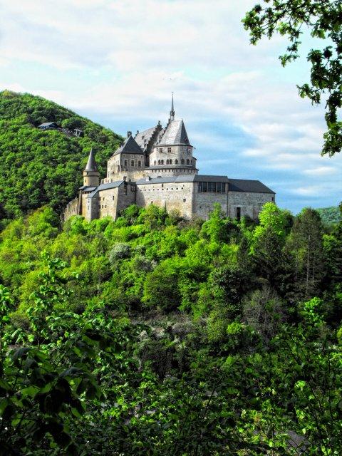 Замок Вианден, Дикирх, Люксембург
